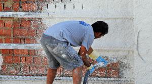 isolporox rinzaffo ecocalix premiscelati edilizia di Manno Fondi