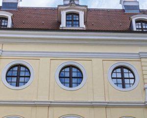 Decorazione facciate di edifici storici di Manno Impresa Costruzioni Fondi Latina